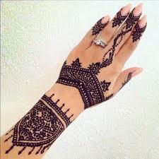 Gothic Henna Wrist Tattoo