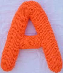 Knitting Patterns 3D Alphabet Kimberly Chapman s Knitting