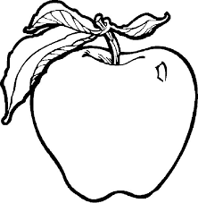 Pr Simple Fruits Coloring Pages