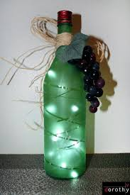 Decorative Wine Bottles With Lights by 246 Best Wine Other Bottles Decorated Images On Pinterest