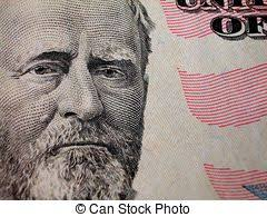 President Grant On Fifty Dollar Bill