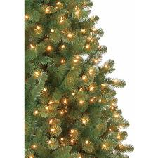 Christmas Tree Storage Container Walmart by Holiday Time Pre Lit 7 U0027 Duncan Fir Artificial Christmas Tree