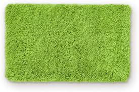 wohndirect badematte einzeln zum set kombinierbar badvorleger duschmatte rutschfest waschbar badteppich badezimmerteppich grün 50 x 80 cm