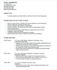 Police Officer Resume Example New Samples Code Rh Wtfmaths Com Enforcement