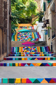 16th Ave Tiled Steps Project by 17 Of The Most Beautiful Steps Around The World Street Art