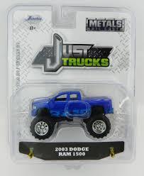 100 Dodge Toy Trucks 164 JADA TOYS JUST TRUCKS 20 Blue 2003 RAM 1500 Pickup