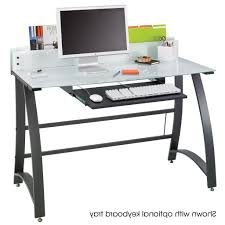 Staples Tempered Glass Computer Desk by Staples Desk Stand Up Computer Desk Australia Stand Up Computer