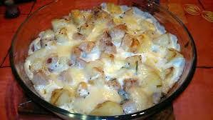 cuisine boudin blanc recette de gratin de boudin blanc au chaource et moutarde à l