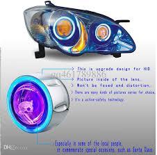 new style 3d bi xenon 3 inch eye projector lens light hid