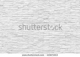 White Grey Rock Stone Brick Tile Wall Aged Texture Detailed Pattern Background