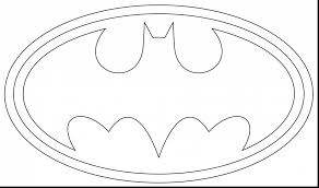 Spectacular Batman Logo Coloring Page With Free Pages And Printable Lego
