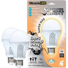 miracle led 7w spider chemical free pests dont like it