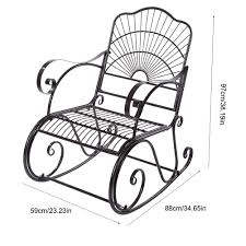 Amazon.com: Outdoor Rocking Chair, Heavy Duty Iron Porch ... Wooden Front Porch Rocking Chairs Pineapple Cay Allweather Chair White Features Amazoncom Xue Heavy Duty Sunnady 350 Lbs Durable Solid Wood Outdoor Rustic Rocker Camping Folding For Nursery Zygxq Garden Centerville Amish 800 Lb Classic Treated Double Ash Livingroom Indoor Best Home 500lb Heavy Duty Metal Patio Bench Glider