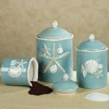 Turquoise Kitchen Canister Sets by Decorative Kitchen Canisters Sets Foter