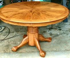 Round Dining Room Tables With Leaf The Beauty Of Table Leaves