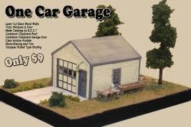 e Car Garage [ eCarGarage] $9 00 Railroad Kits The HO