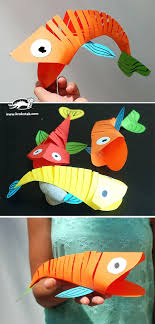 Handmade Craft Ideas Reuse Household Items The Best Easy Paper Crafts On Arts And Wow Amazing Fish How Cool Is This Actually Move Are Flexible So Fun