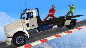 SNIPERS VS TRUCK SURFERS!? (GTA 5 Funny Moments) - YouTube