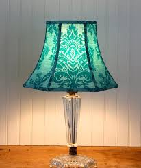 Stiffel Bell Lamp Shades by Best 25 Teal Lamp Shade Ideas On Pinterest Teal Light Shades