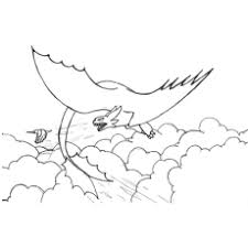The Dragon Attacking Bird