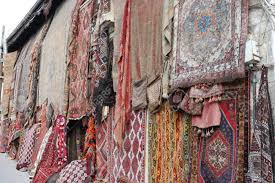 An Old Traditional Turkish Carpet Shop In Cappadocia Goremein Turkey Stock Photo