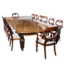 Antique Extending Dining Table 14 Chairs, Circa 1880 At 1stdibs