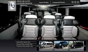 High Quality Custom Design Sprinter Vans