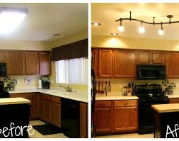 lighting appealing track lighting kitchen cabinets pretty