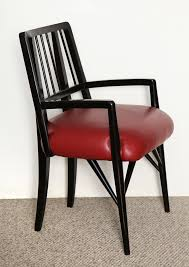 Set Of Four Custom Designed Dining Chairs By Paul Laszlo ...