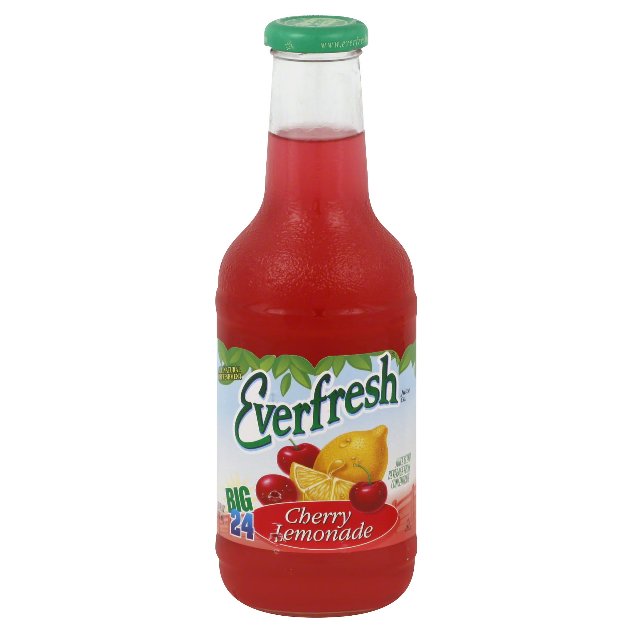 Everfresh Juice Blend, Cherry Lemonade - 24 fl oz