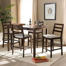 Lib 2 5 Piece Pub Table Set In Rustic Brown Finish By Liberty ...