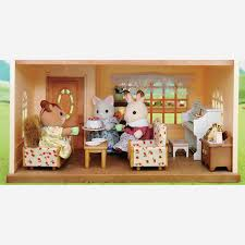 Sylvanian Families Living Room Set At Perfect Luxury 66526 0