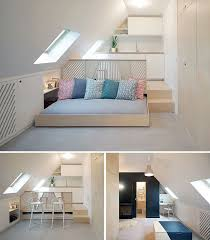 Often The Small Studio Apartments Are Located On Last Floor Or Attic And Problem With Sloping Ceiling A Frame Can Occur