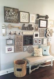 Would Not Want A Gallery Wall Quite This Busy But Love These ElementsAre You Farmhouse Style Lover If So 23 Rustic Decor Ideas Will Make