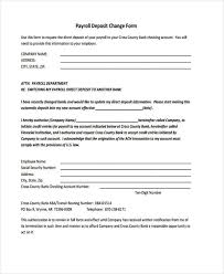 Payroll Change Notice Form Template 28 Images Of Paigin Com