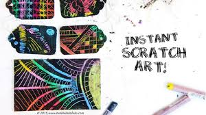 Instant Scratch Art
