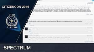 Star Citizen » Citizencon 2946 | Spectrum (ENG) - YouTube