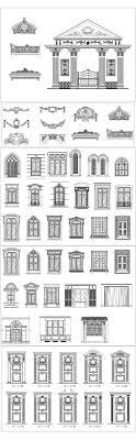 100 Mt Architects Architectural Classical Element Autocad Blocks V1All Kinds Of Architecture Decorations CAD Blocks Bundle