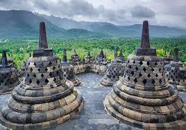 It Is Located At Magelang 90 Km Southeast Of Semarang Or 42 Northwest Yogyakarta
