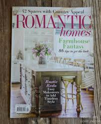 104 Wood Homes Magazine Our House In Romantic Sanctuary Home Decor