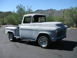1957 Chevy Truck Short Bed Stepside Pickup - Classic Chevrolet Other ... 1956 Chevrolet Truck For Sale Hrodhotline Pickup Stretched Chevy Truckin Magazine File1957 4400 Truckjpg Wikimedia Commons Automotive News 56 Gets New Lease On Life 1957 Chevy Trucks Front Color Classic 3100 Fleetside Sale 4483 Dyler Chevrolet 1300 Pickup Truck Hot Rodstreet Rod 350ho Crate Custom Apache 2014 Ardmore Car Show Youtube Top Speed Task Force In Ashmore Qld