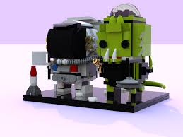 100 Lego Space Home LEGO IDEAS LEGO Moments In Brickheadz Dual Pack