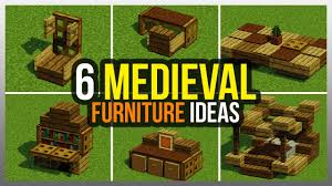 6 Me Val Furniture Ideas Minecraft Cute Modern Dining Room