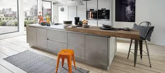 trend küche in beton grau küche beton