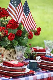 Memorial Day Graveside Decorations by Memorial Day Table Stonegable