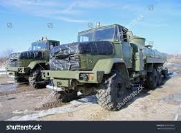 100 Fuel Trucks Army Field Depot Stock Photo Edit Now 256570981