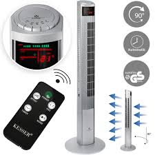 kesser turmventilator mit fernbedienung 120 cm oszilation 55w led display ventilator mit 3 geschwindigkeitsstufen timer bis 12 stunden