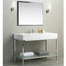 Single Sink Bathroom Vanity by Ariel By Seacliff Brightwater 48