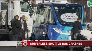 The Latest: Truck Driver Cited In Crash With Driverless Bus - WTNH