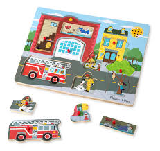 100 Melissa And Doug Fire Truck Puzzle AROUND THE FIRE STATION SOUND PUZZLE FDNY Shop